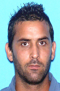 Geovani Barrios-Delgado, wanted fugitive by the USPIS
