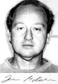 Leon Gilden, wanted fugitive by the USA Postal Inspection Service