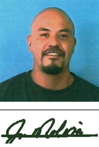 Juan-Francisco G. Molina, wanted fugitive by the USPIS
