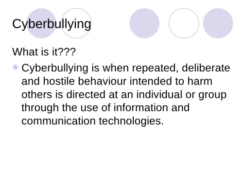 Protecting Your Child From Cyberbullying